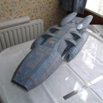 Battlestar Galactica built by Stephen Irl