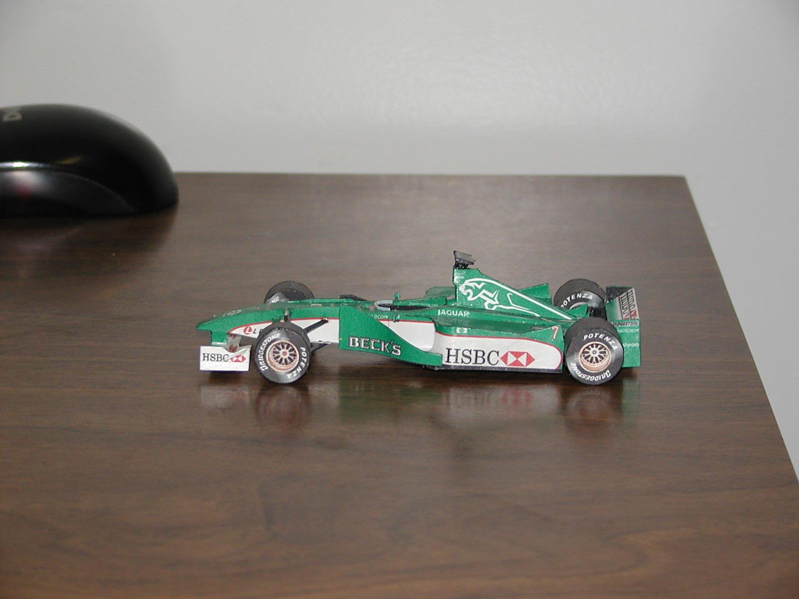 Yasu Tanaka F1 Jaguar