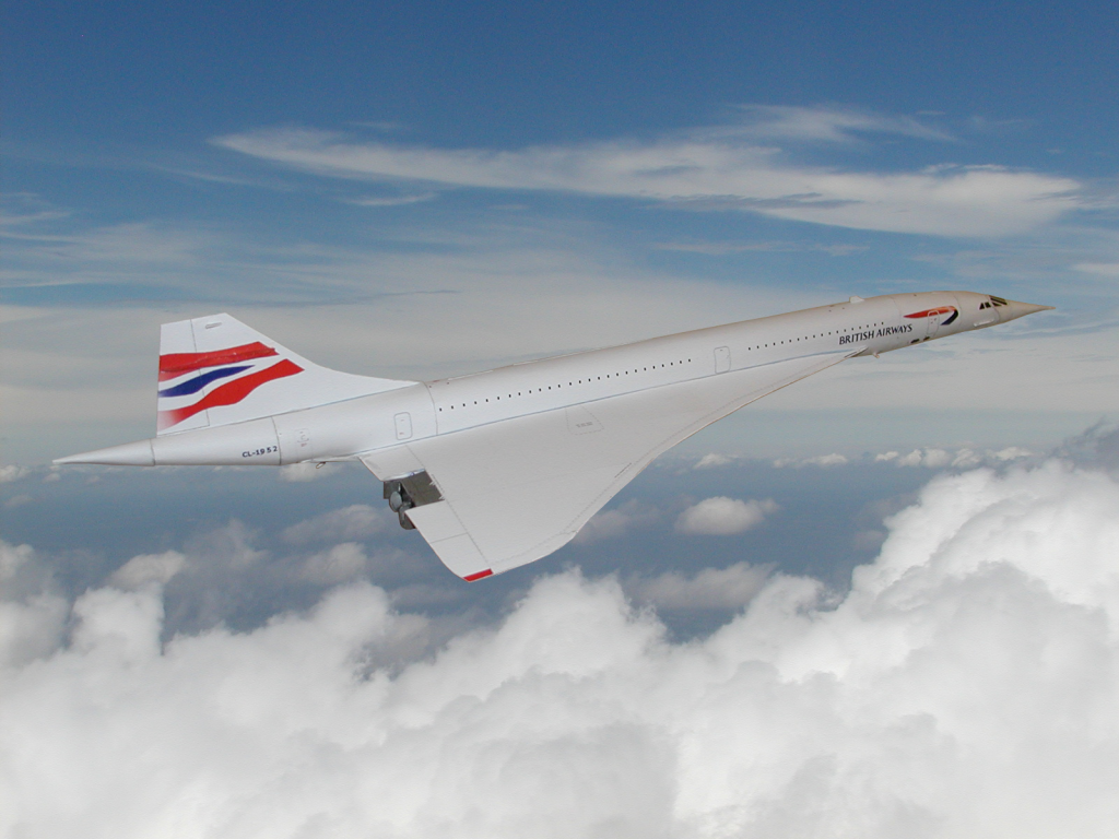 The finished Concorde now resides in England