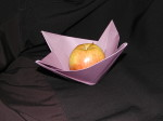 Created by Philip Chapman-Bell this stylish bowl is fairly easy to fold.